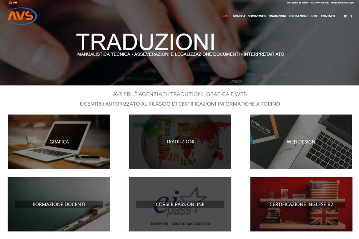 sito internet aziendale multipagina