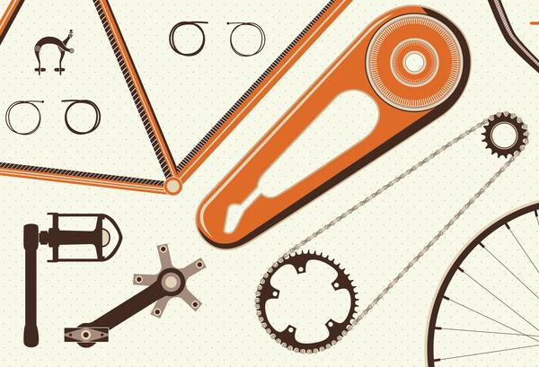 anatomia della bicicletta